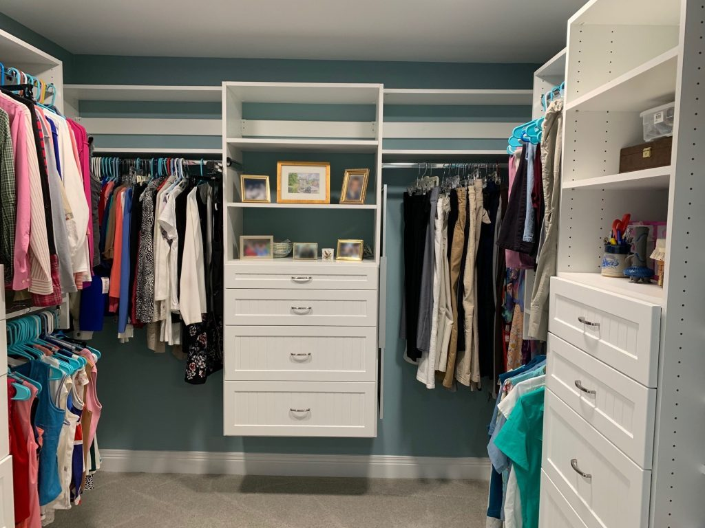 After Room Addition Walk-In Closet